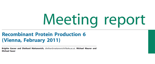 Recombinant Protein Production 6 Vienna Feb 2011