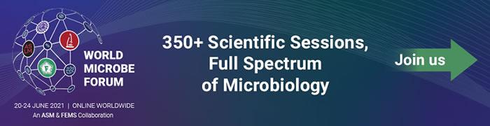 World Microbe Forum - FEMS - Promotional Banner