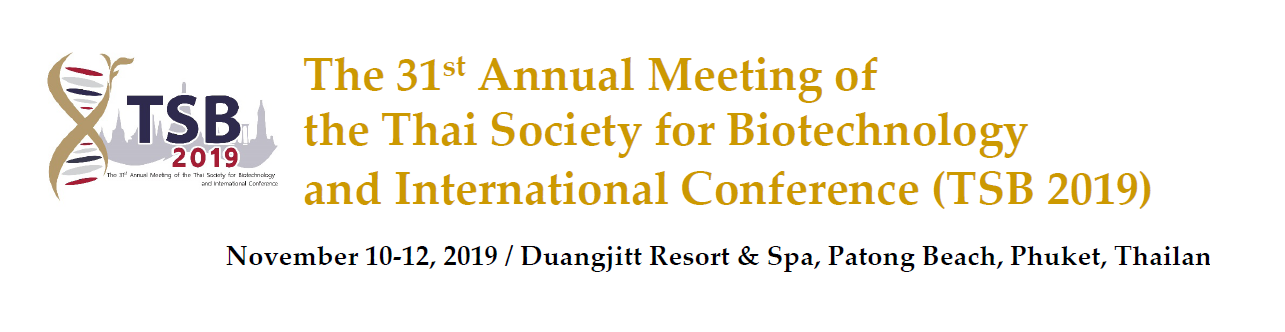 31stAnnual Meeting of the Thai Society for Biotechnology and International Conference - Banner