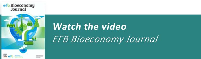 EFB Bioeconomy Journal - Promotional video below