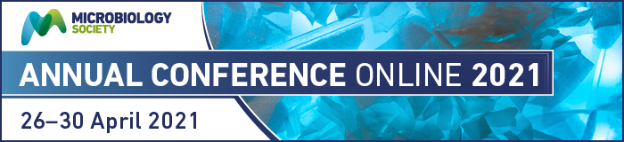 Microbiology Society - Annual Conference Online 2021 - banner
