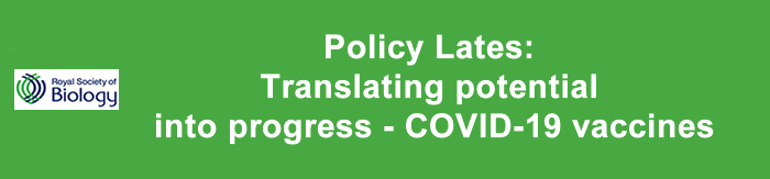 Policy Lates: Translating potential into progress - COVID-19 vaccines