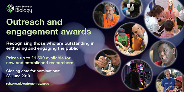 RSB Outreach and Engagement Award 2019 - banner