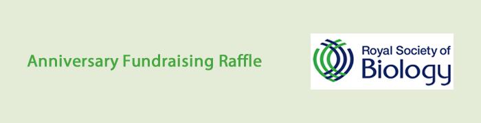 Anniversary Fundraising Raffle - Event Banner
