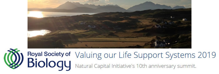 Valuing our Life Support Systems 2019 - Growing the Future Report  - banner