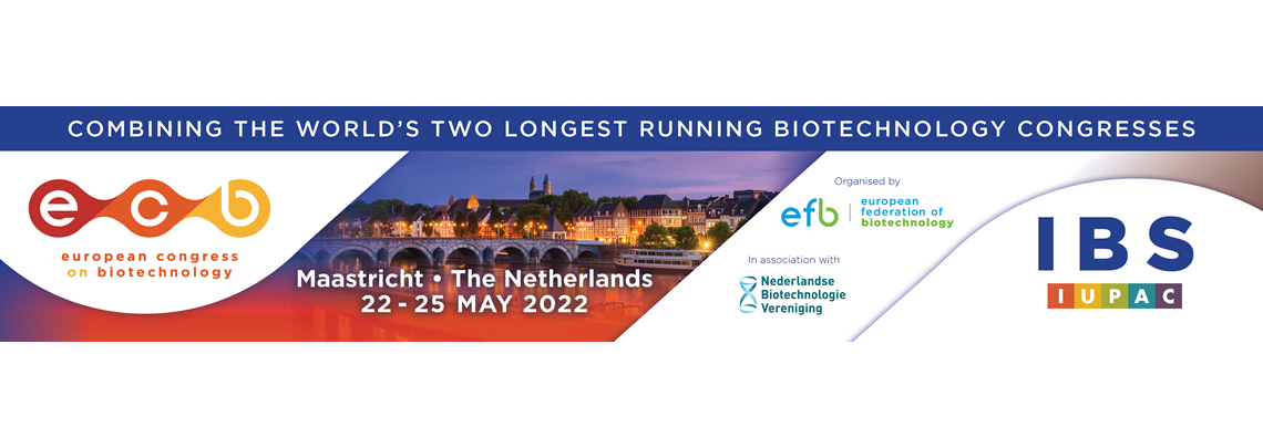 ECB2022: European Congress on Biotechnology - Maastricht. Netherlands