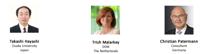 List of EFB2021 confirmed Pleanary Speakers: Takashi Hayashi, Trish Malarkey, Christian Patermann