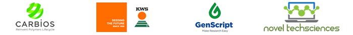 Corbios, KWS, Genscript - Logos