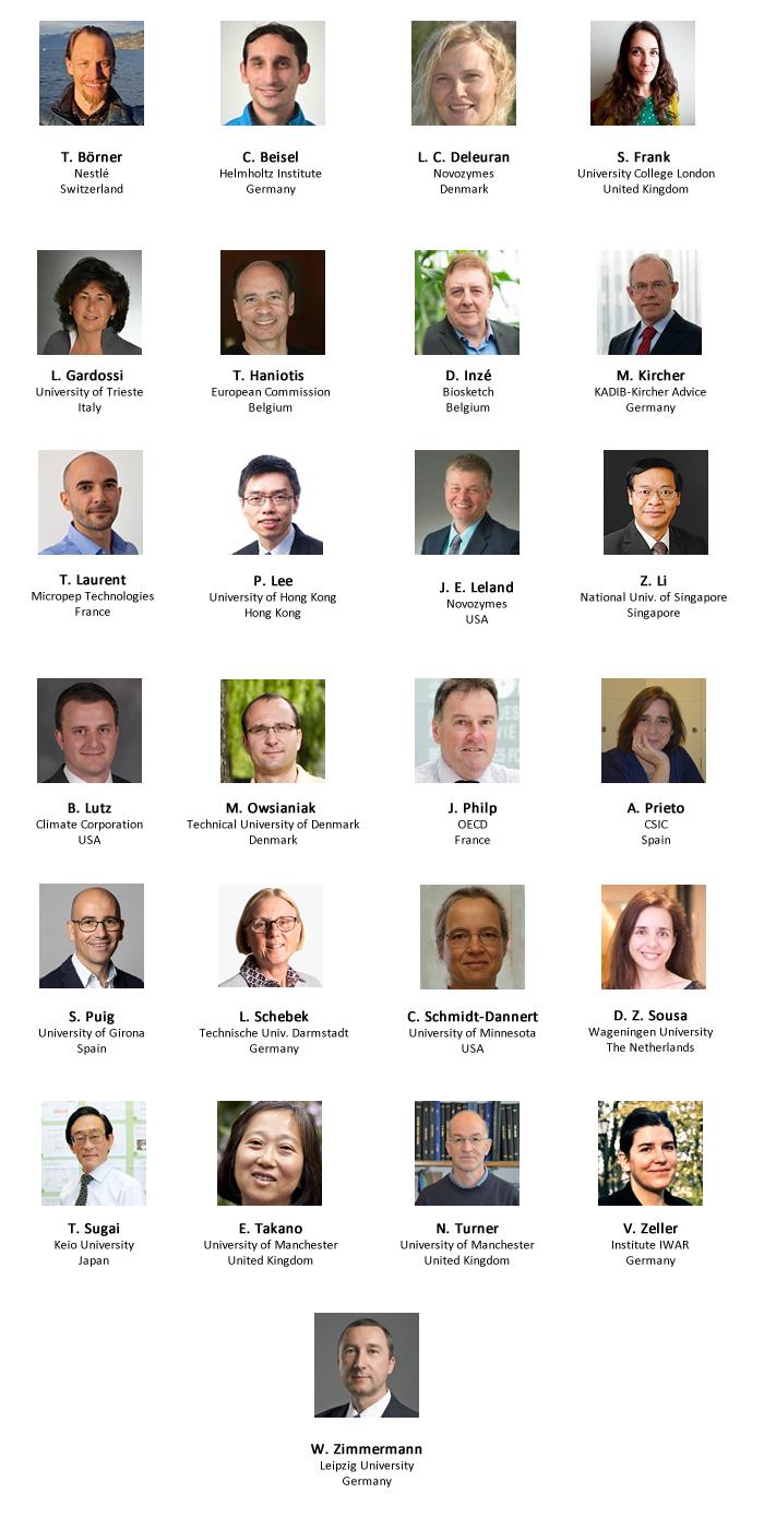 List of confirmed speakers